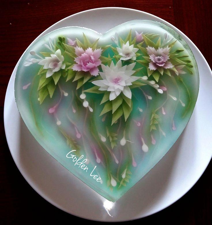 Gelatin Cake Art : 25+ best ideas about Gelatinas artisticas on Pinterest ...