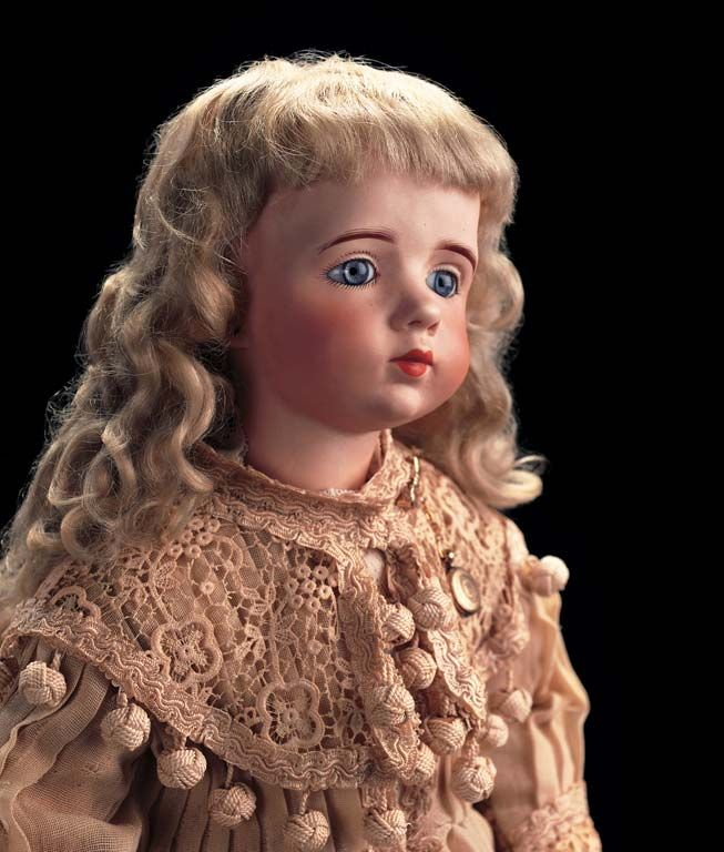 French Bisque Artist Doll by Albert Marque