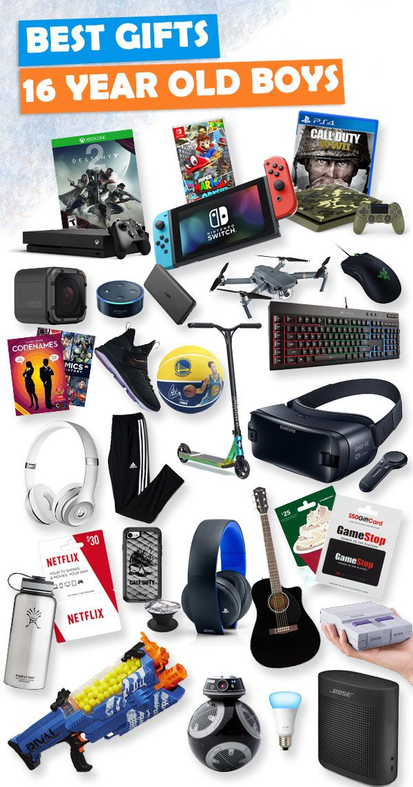 Gifts For 16 Year Old Boys  Gifts For Teen Boys -4769