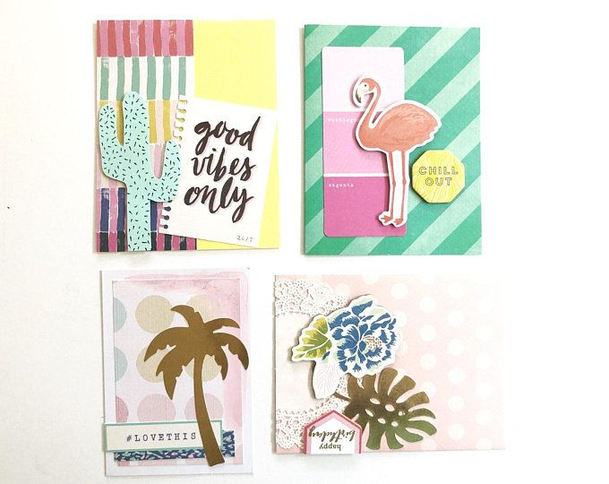 Tropical Tropicalleaves Flamingo Flamingostationery Tropicalstationery Palmtrees Cactus Goodvibesonly Coasta Paper Crafts Unique Items Products Crafts
