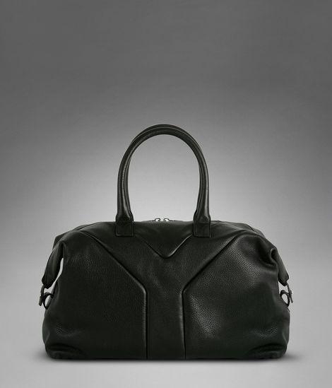 Medium YSL Easy in Black Soft Leather http://www.ysl.com/en_US ...