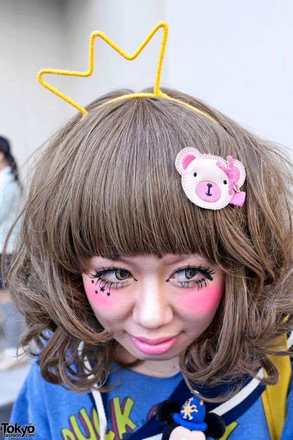 Adorable Harajuku girl ♥ have fun with your make up people!