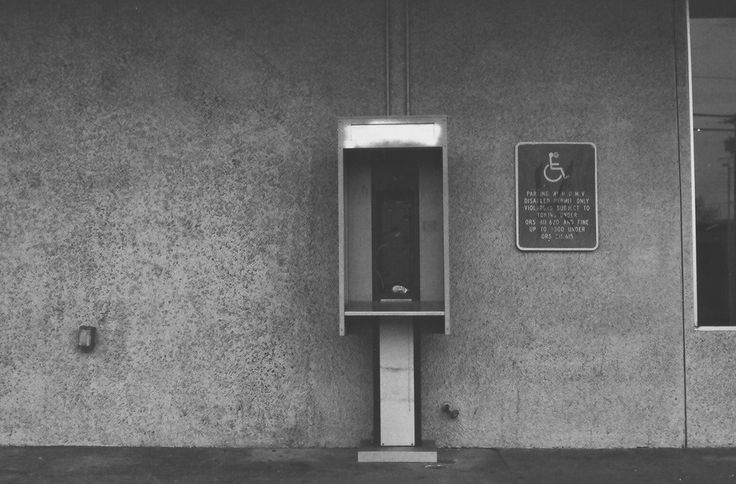 Phone Booth | Nikon FM | 50mm | Panf+ July 15, 2015 Justin Renault