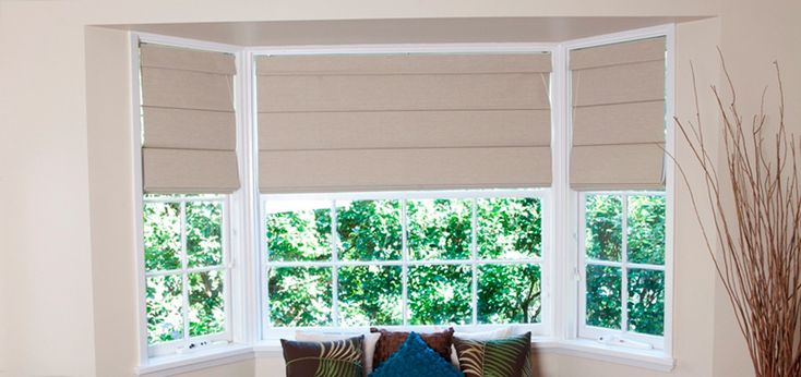 Roman blinds are famously used for controlling heat and sound.