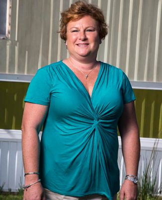 Just because its a trailer park doesnt mean its a stereotypical trailer park. We have all kinds of people out here; its not white trash, says Myrtle Manor landlord Becky Robertson. Its a safe place to live.