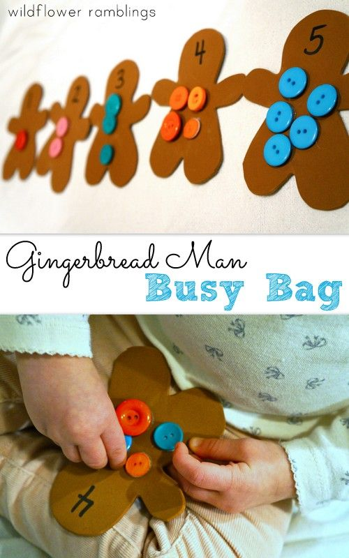 I am so excited to bring you our Gingerbread Man Button Counting Busy Bag today!!  This simple, holiday-themed busy bag reinforces counting and colors, while helping children with their pincer grasp and fine motor skills!! Sometimes, it is difficult to keep little hands busy when you just need a minute to {fill in the blank} load...Read More »