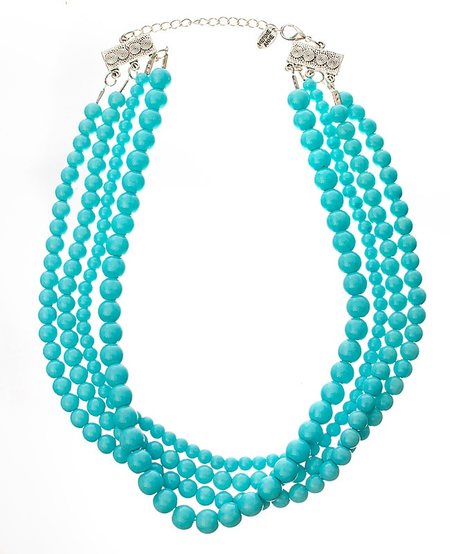 Summer's Day - Aqua: Accessories 3, Bold Necklaces, Color, Summer Style, Turquoi Pearls, Women Accessories, Grad Dresses, Graduation Dresses, Cinderelli Turquoi