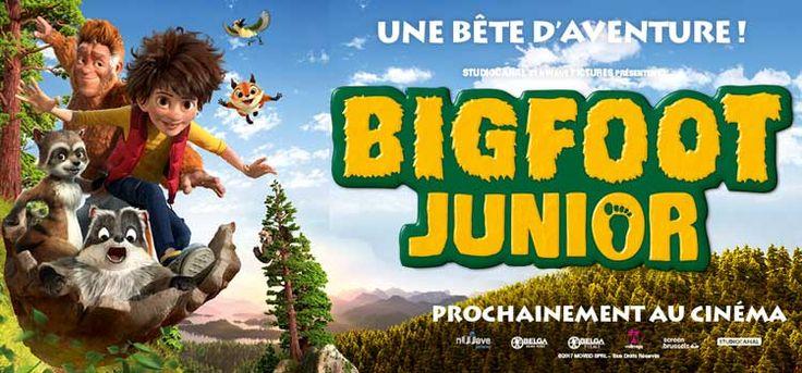 Bigfoot Junior, une animation Belge. Adam, 13 ans, recherche son père,il n'imagine pas l'ampleur de la quête. Il ne sait pas qu'il est le fils de Bigfoot. #BigfootJunior