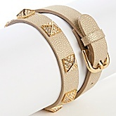 Gotta get this DJ by DANNIJO leather wrap bracelet before it's gone for such a bargain!
