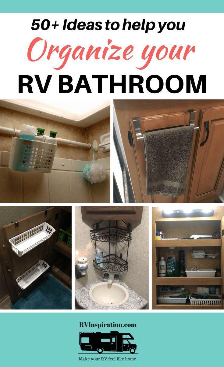 20 Best Rv Bathroom Ideas For Cozy Outdoor Holiday Camper Decor Rv Bathroom Camper Makeover
