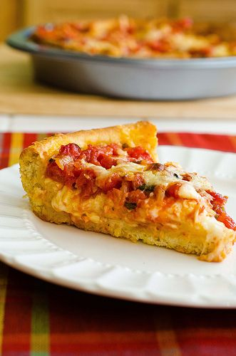 Chicago-Style Deep Dish Pizza-I have made Chicago Style Deep Dish Pizza, and this recipe is very similar, but I would like to try this one.