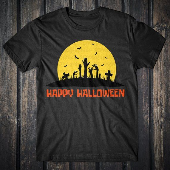 Clipart Pumpkin October Bat svg dxf Cemetery svg eps Moon svg Cut file Cricut Cameo Silhouette Happy Halloween svg Halloween svg