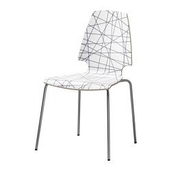 IKEA - VILMAR, Chair, The chair's melamine surface makes it durable and easy to keep clean.You can stack the chairs, so they take less…