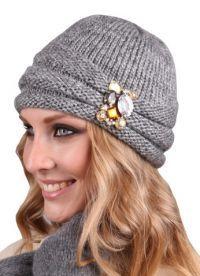 вязаные шапки 2013 2