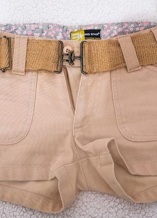 Kup mój przedmiot na #vintedpl http://www.vinted.pl/damska-odziez/szorty-rybaczki/11036552-bezowe-krotkie-spodenki-big-star