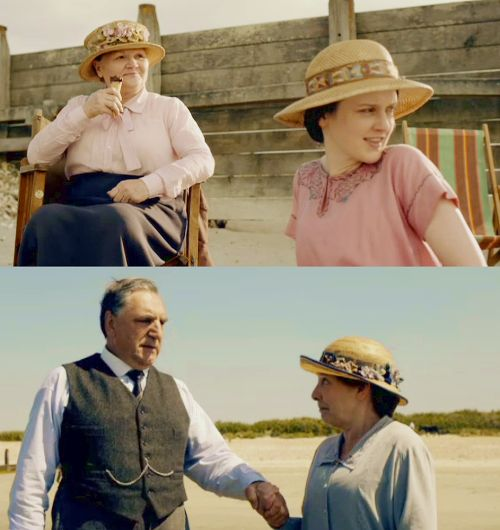 downton abbey at the seaside!