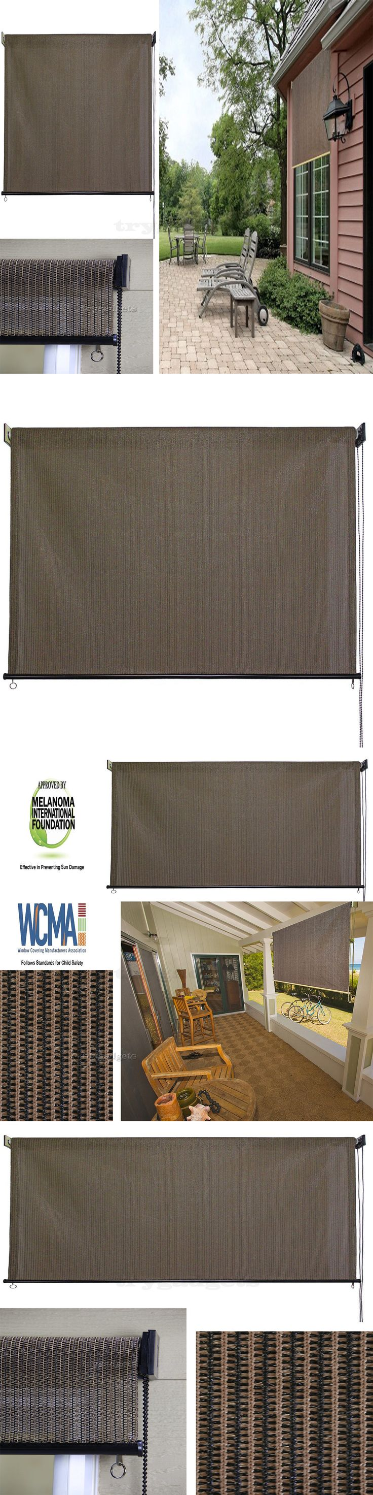 Outdoor patio blinds - Blinds And Shades 20585 6ft Exterior Blinders Shade Roller Outdoor Patio Roll Up Shades Blind