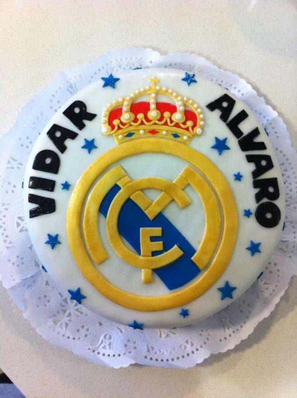 Torta Real Madrid. 8 años Vidar y Alvaro!!
