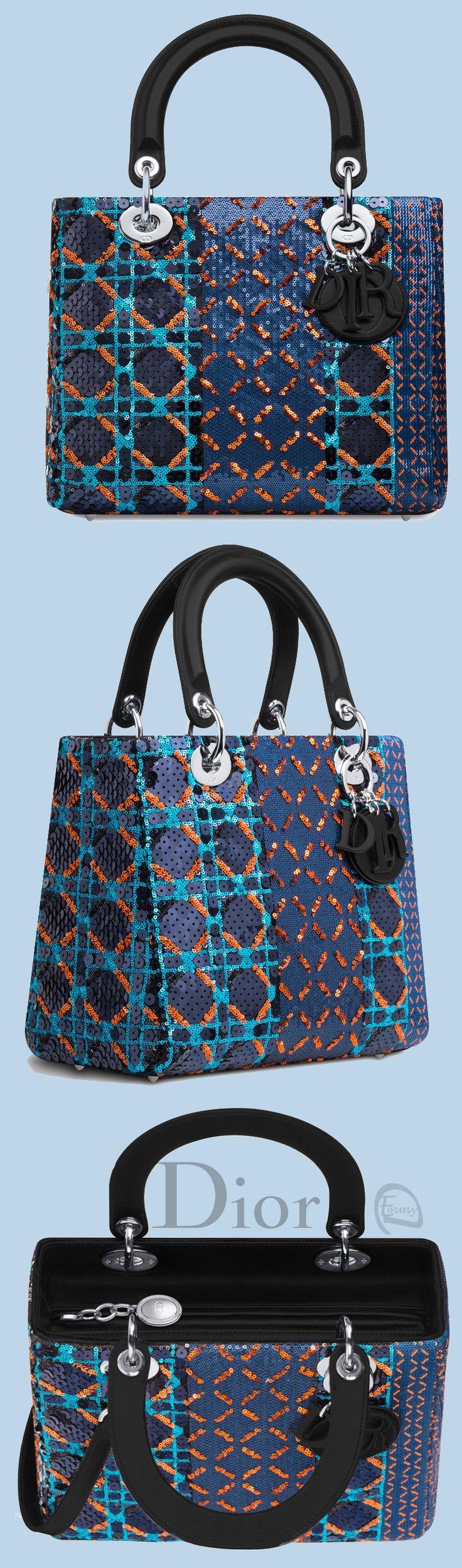 Emmy DE * Lady Dior Bag Sequinned Jacquard 2015 Yasemin Aksu
