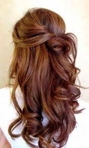 Resultado de imagem para fotos de cabelos semi presos