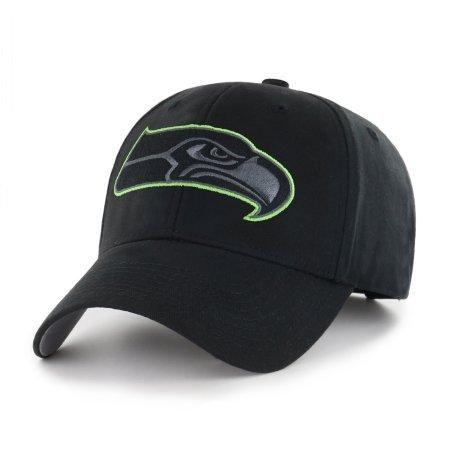 NFL Seattle Seahawks Black Mass Adjustable Cap/Hat