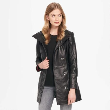Wilsons Leather Wing-Collar Belted Lamb Hipster Jacket $489.99                      Our Price Now:                                           $500.00                      Comp Value Was: