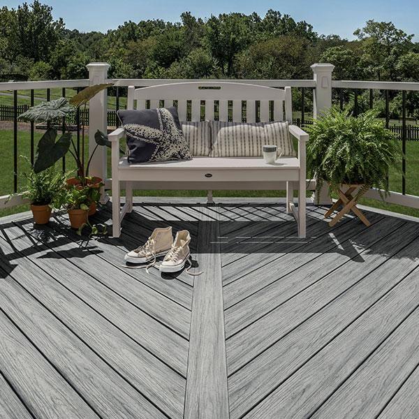 Decking Image Gallery Trex Enhance Deck Railing Design Deck Design