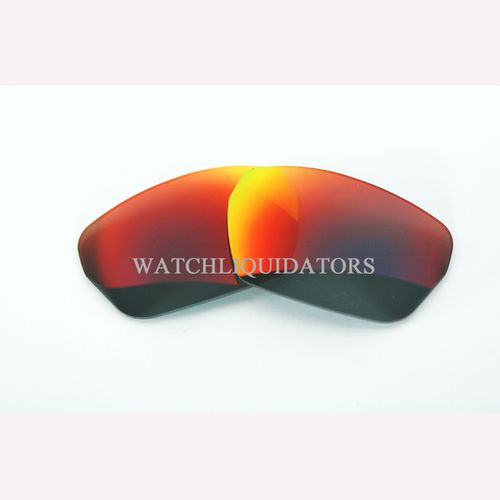 REPLACEMENT LENSES FOR SPY OPTIC HSX SUNGLASSES DARK GRAY W/ FURY RED MIRROR
