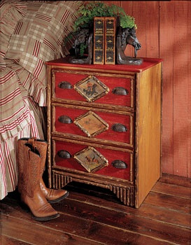 I have this little chest - it is so campy and cute!!!