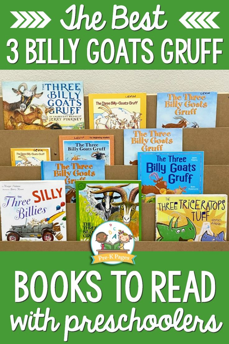 Best three billy goats gruff books for preschool prek