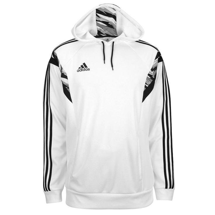 white adidas hoodie