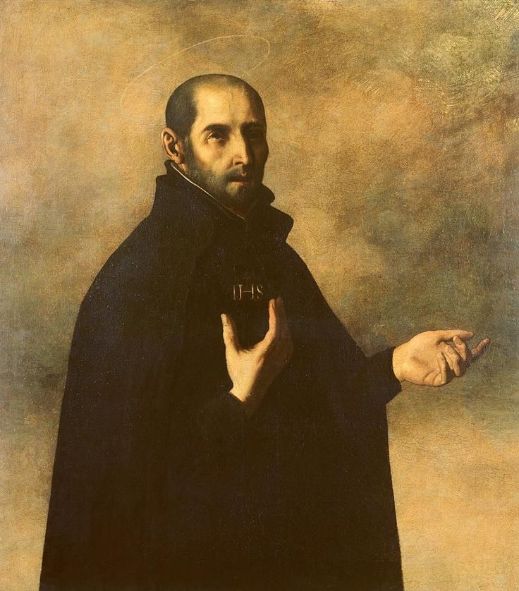 Image result for St. Ignatius of Loyola, art