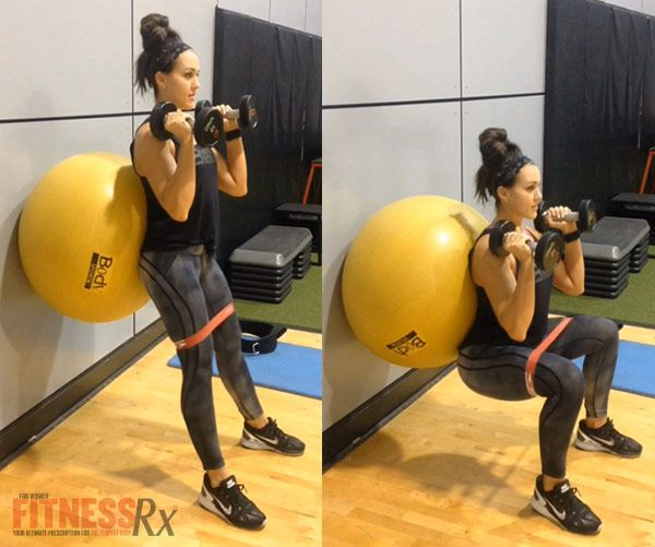Fit Fast Swiss Ball Workout | FitnessRX for Women