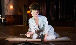 The plot thickens … Helen McCrory in Medea, a play that could have had up to 19 variations.