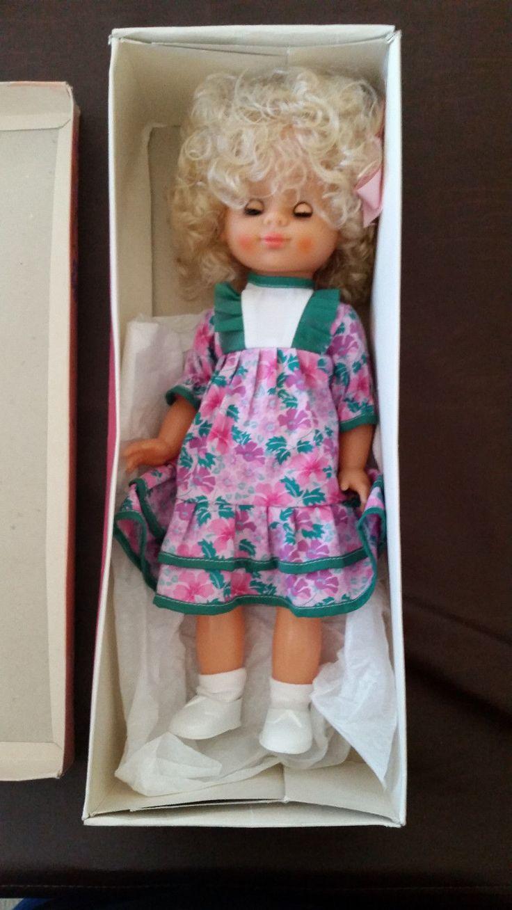 Vintage Biggi Doll Still in Box Blond Girl GDR East German   eBay