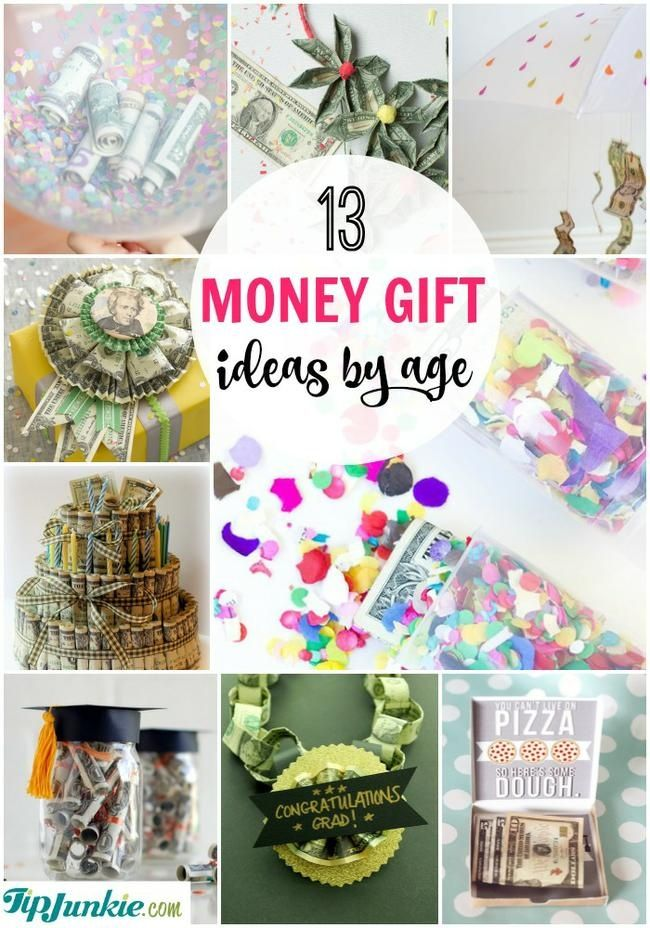Money Gift Ideas by Age