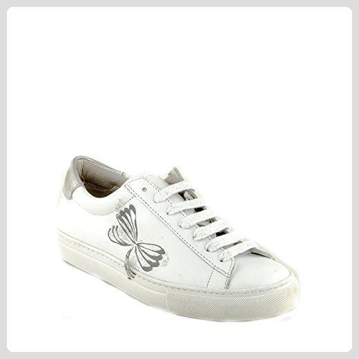 Felmini - Damen Schuhe - Verlieben Fame A532 - Sneakers - Echtes Leder -  Weiß -