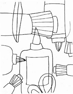 """Contour Line, Composition, Repetition, Random Pattern, """"Zoom In"""", """"Off the Page"""" ---Another take on contour line and composition. I've used light bulbs and other subjects before."""