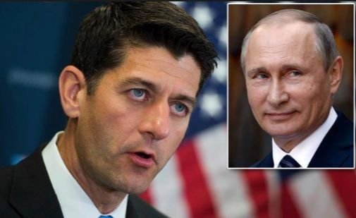 Paul Ryan's SuperPAC Just Got Caught Working With Putin's Stolen Emails In House Races