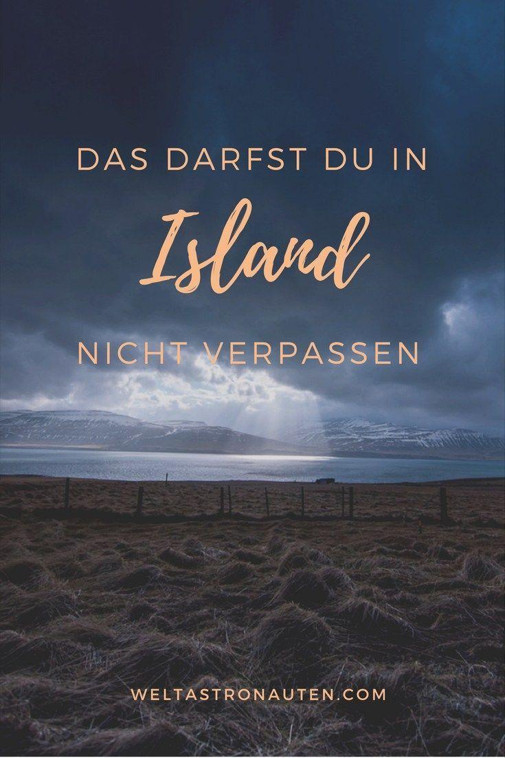 Island Reisetipps: Das MUSST du gesehen haben!