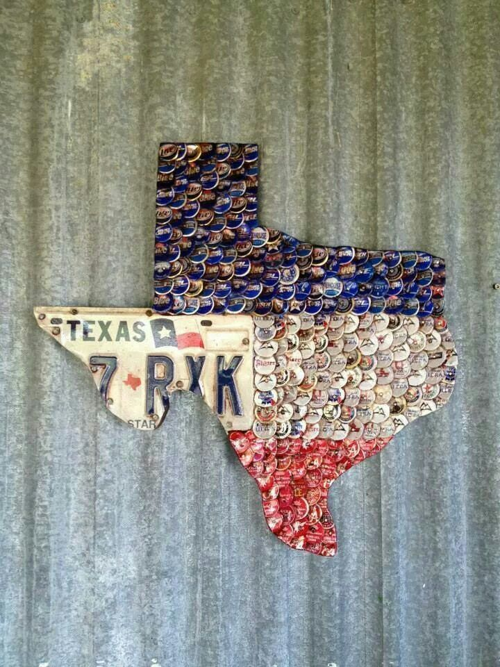 Texas crafts, but could do one with Missouri and the different state beers. Too cute!