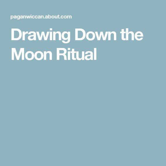 Drawing Down the Moon Ritual