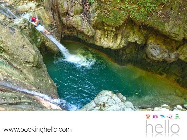 EL MEJOR ALL INCLUSIVE AL CARIBE. Las Cascadas Damajagua en República Dominicana, son un tesoro de piedra caliza con 27 cascadas. Un lugar donde tú y tus amigos podrán tener un día lleno de aventura, ya que se ubica en la selva tropical de la cordillera Septentrional. En Booking Hello te invitamos a conocer los packs all inclusive que tenemos, para que empieces a planear tu viaje a este fantástico sitio. #allinclusivealcaribe