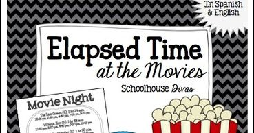 by Schoolhouse Diva  3rd - 6th Grade      FREE download!! Elapsed Time Worksheet!  Students use a real world concept, movie theater times, i...