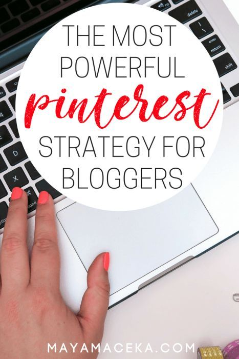The Most Powerful Pinterest Strategy for Bloggers | I share my best Pinterest secrets in this all-encompassing guide on how to get traffic from Pinterest. Learn how to use Tailwind, design your own pins and get followers. Click through for more!