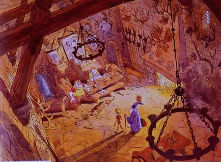 Background The Sword in the Stone (Merlin l'Enchanteur)