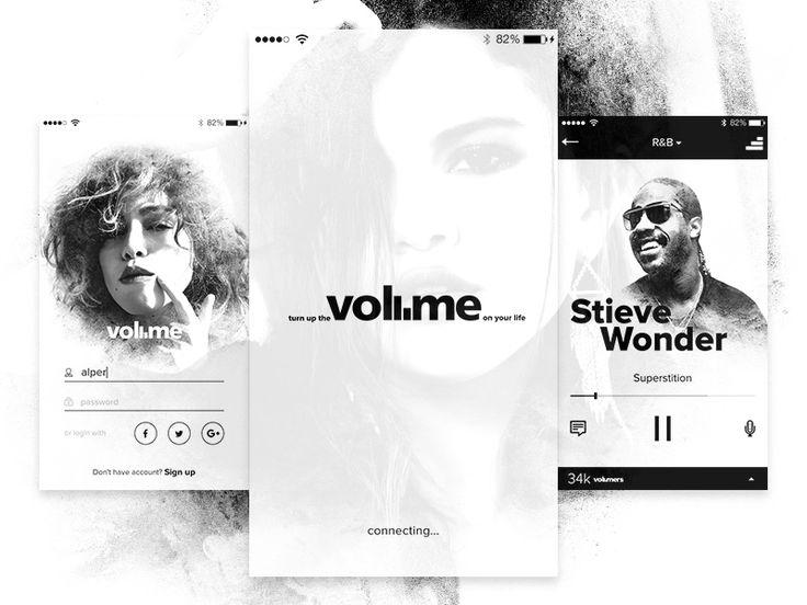 Volume Radio App by Alper Tornaci