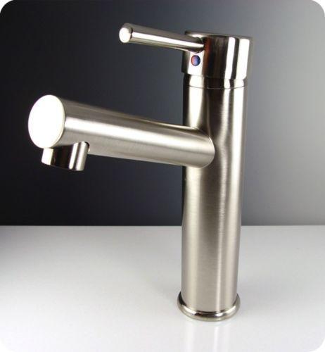 Fresca-Savio-Single-Hole-Mount-Bathroom-Vanity-Faucet-Brushed-Nickel-Finish