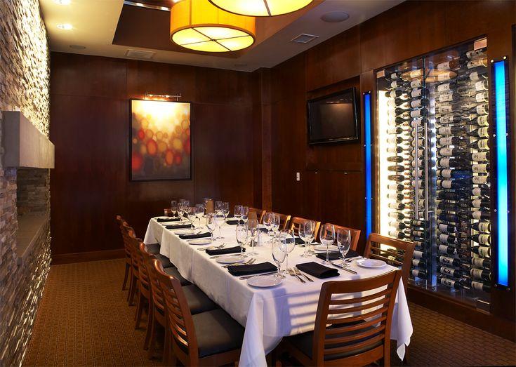 Ocean prime dallas private dining the club room 16 for Best private dining rooms dallas