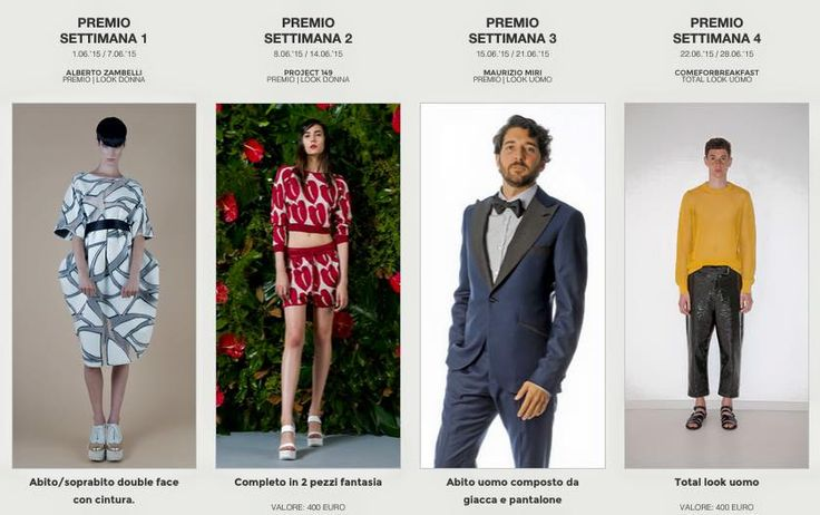VOTA IL TIME AWARD LOOK! #fashion #whitetrademilano